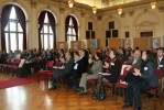 Representatives from project partner universities present at the Aula (University of Graz)